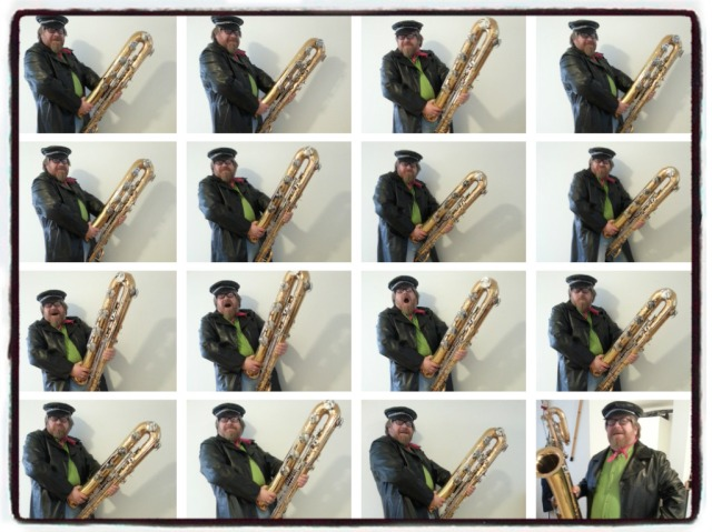 SM sax collage